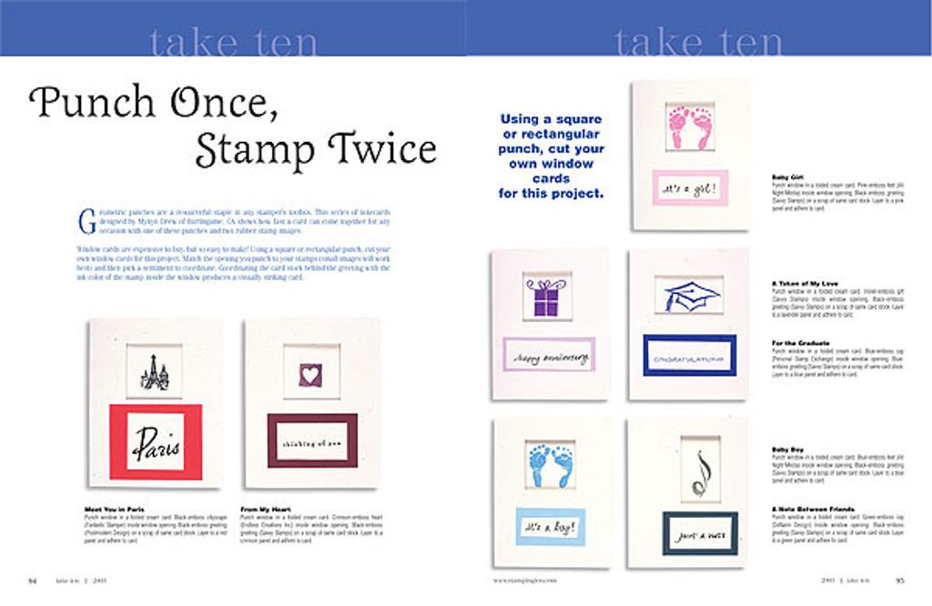 Take Ten 2003 Volume 1