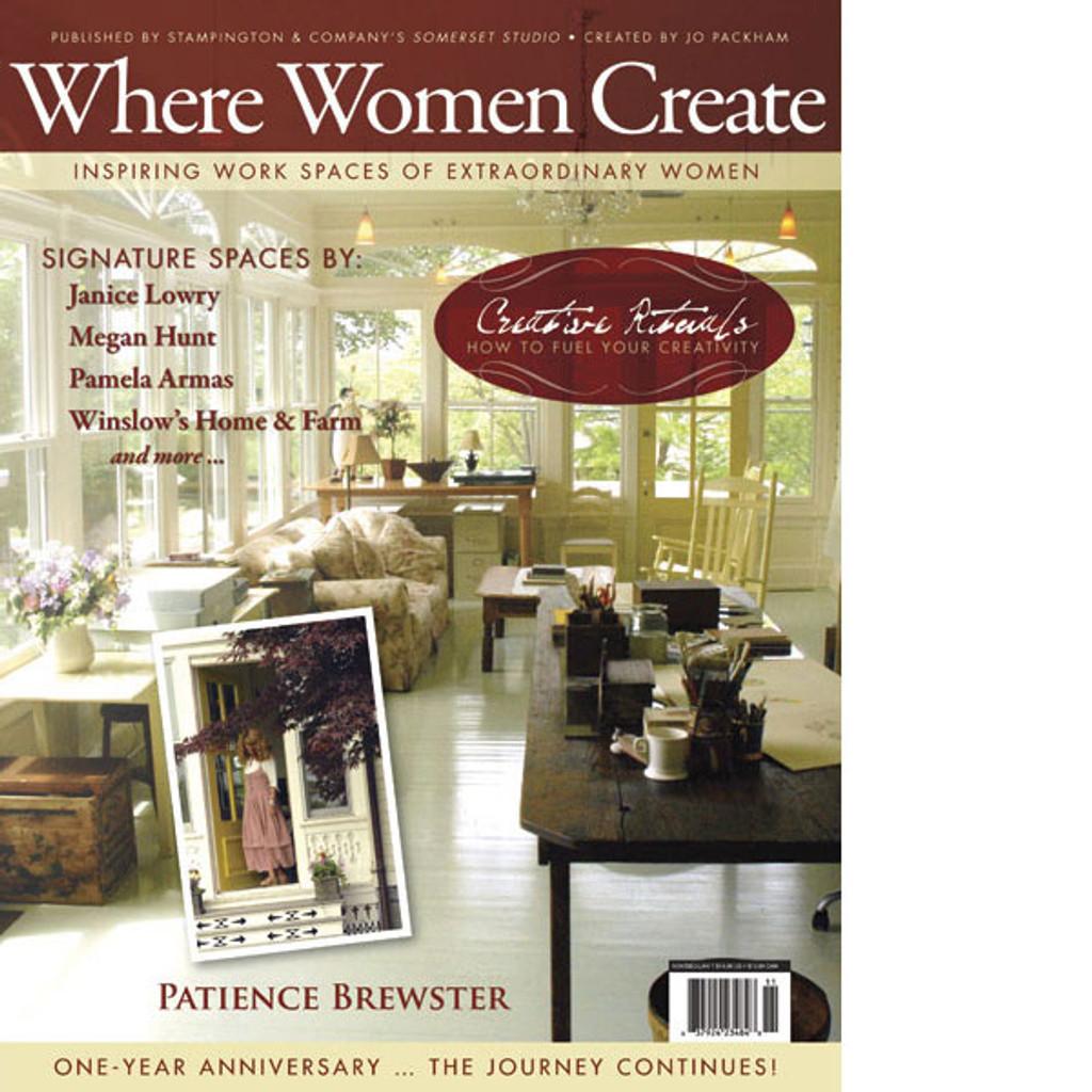Where Women Create Winter 2010