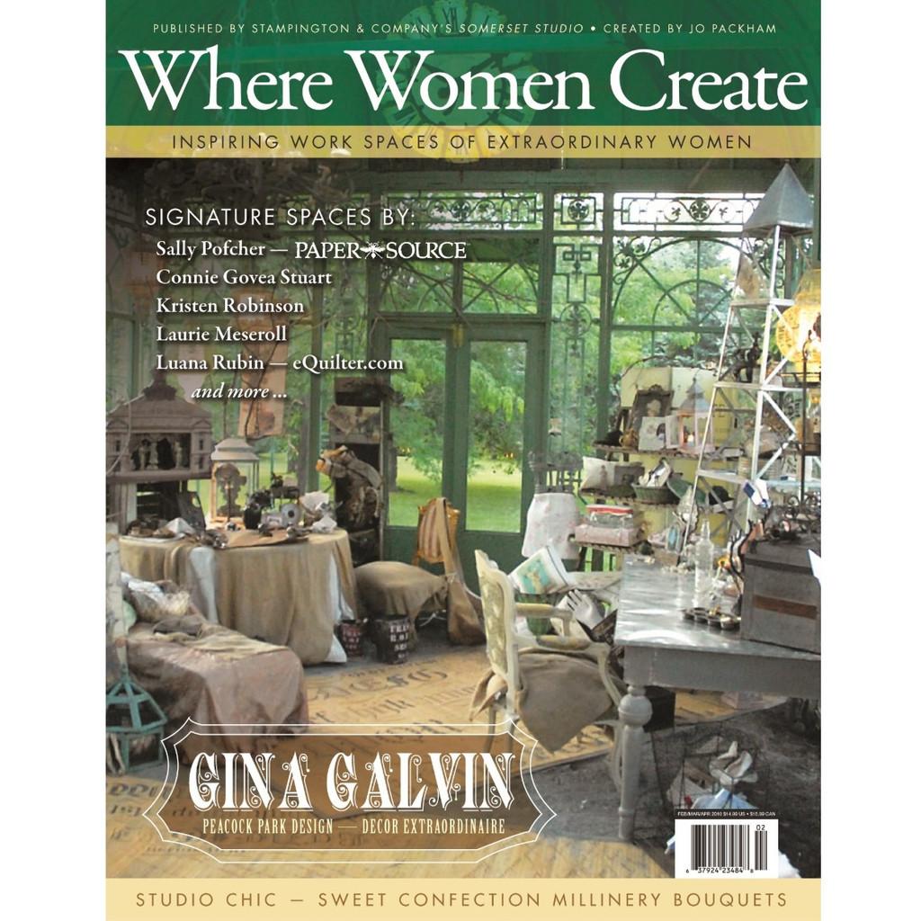 Where Women Create Spring 2010