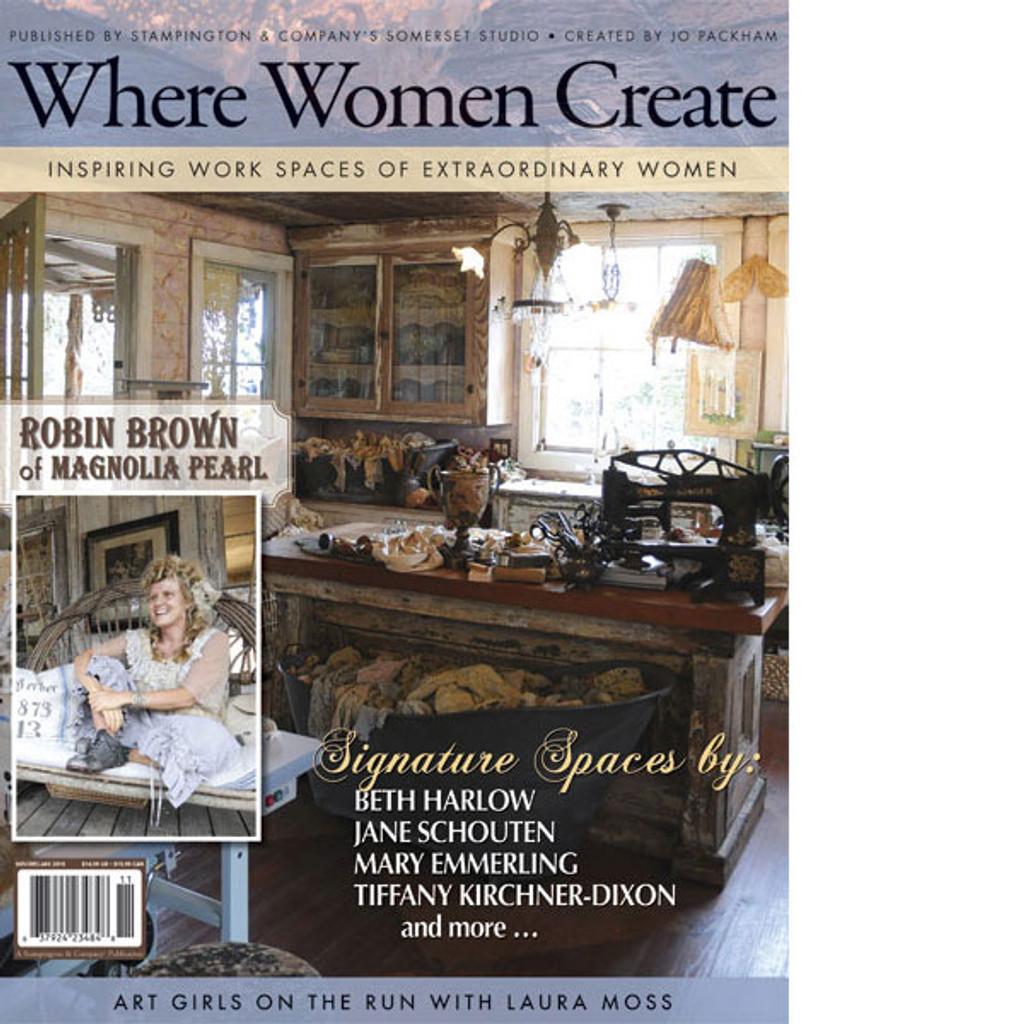 Where Women Create Winter 2011