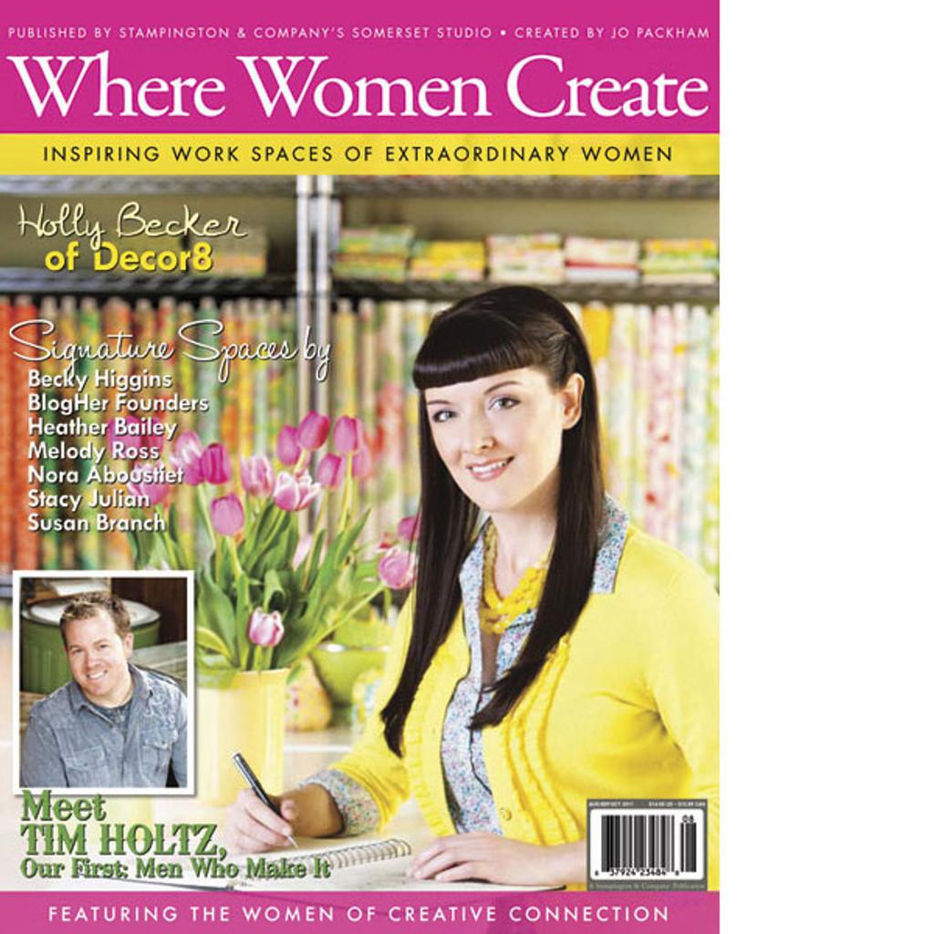 Where Women Create Autumn 2011