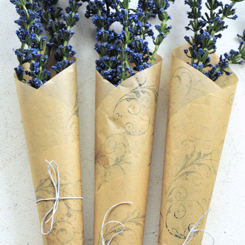 Parchment Paper Bouquet Project