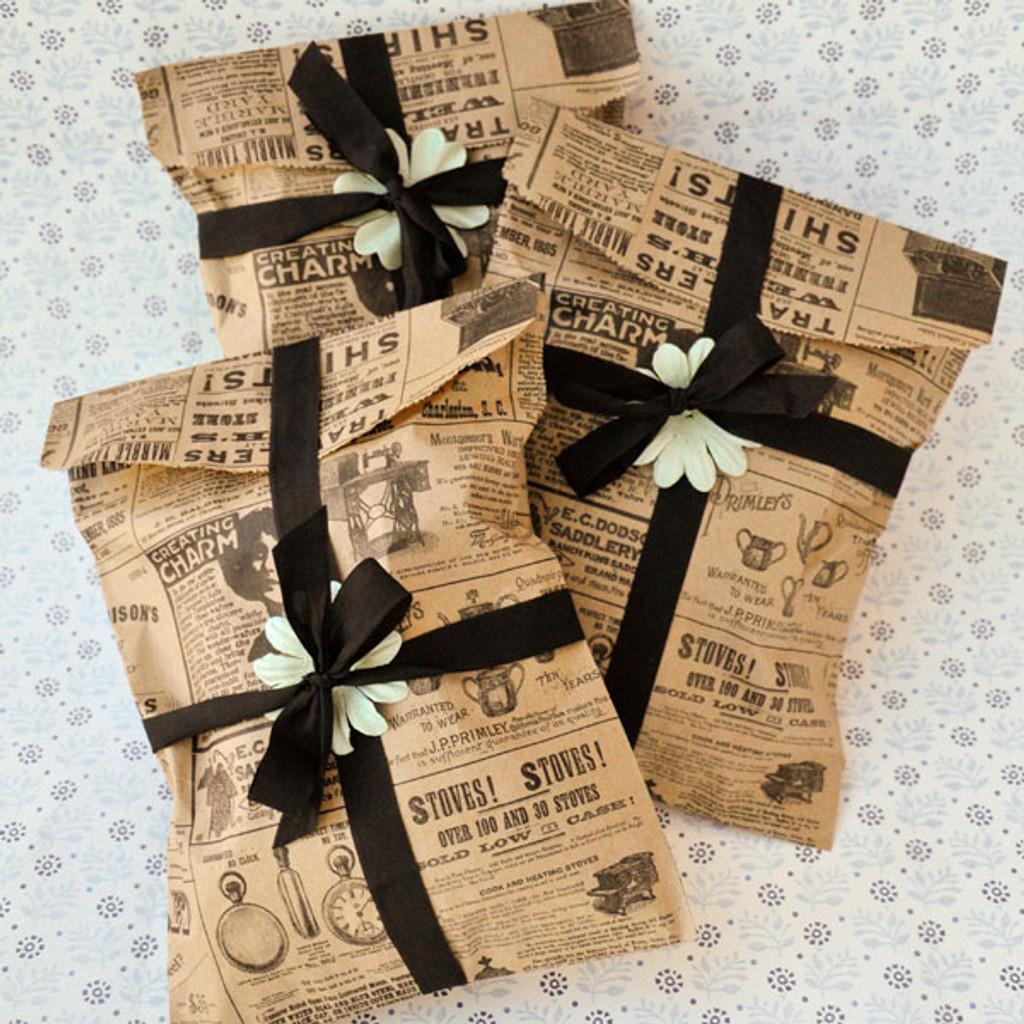 Vintage Goodie Bags Project
