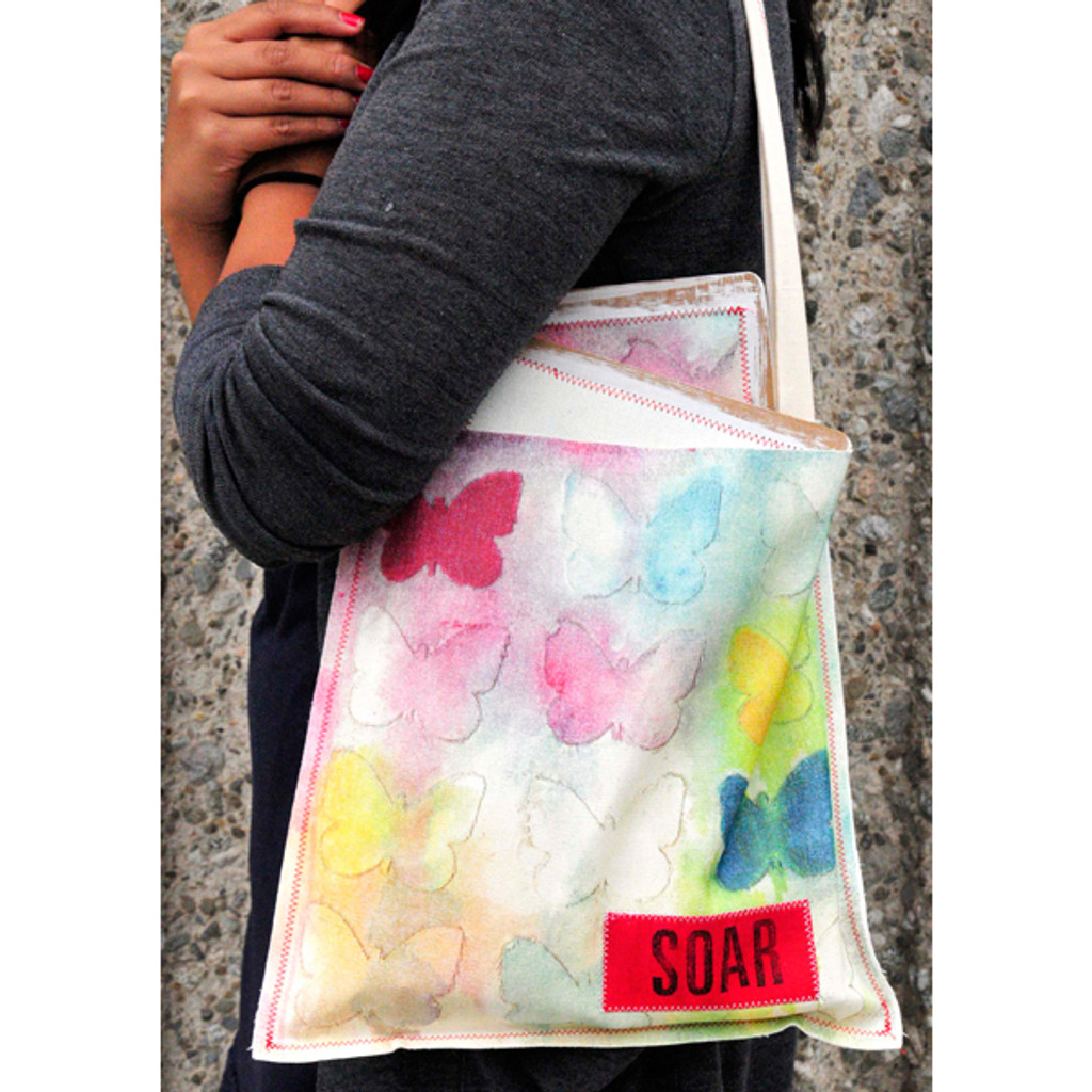 Creative Tote and Coordinating Journal Project
