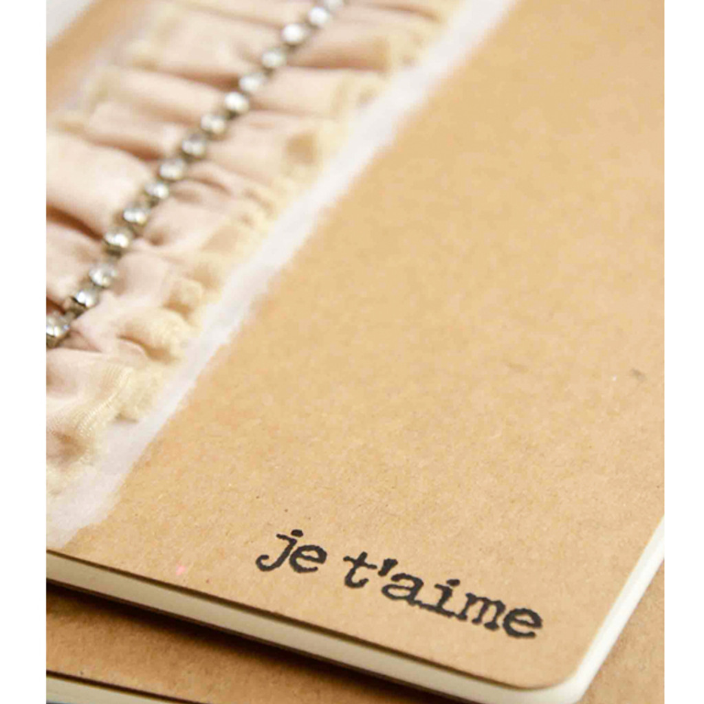 Je t'aime Journal Project