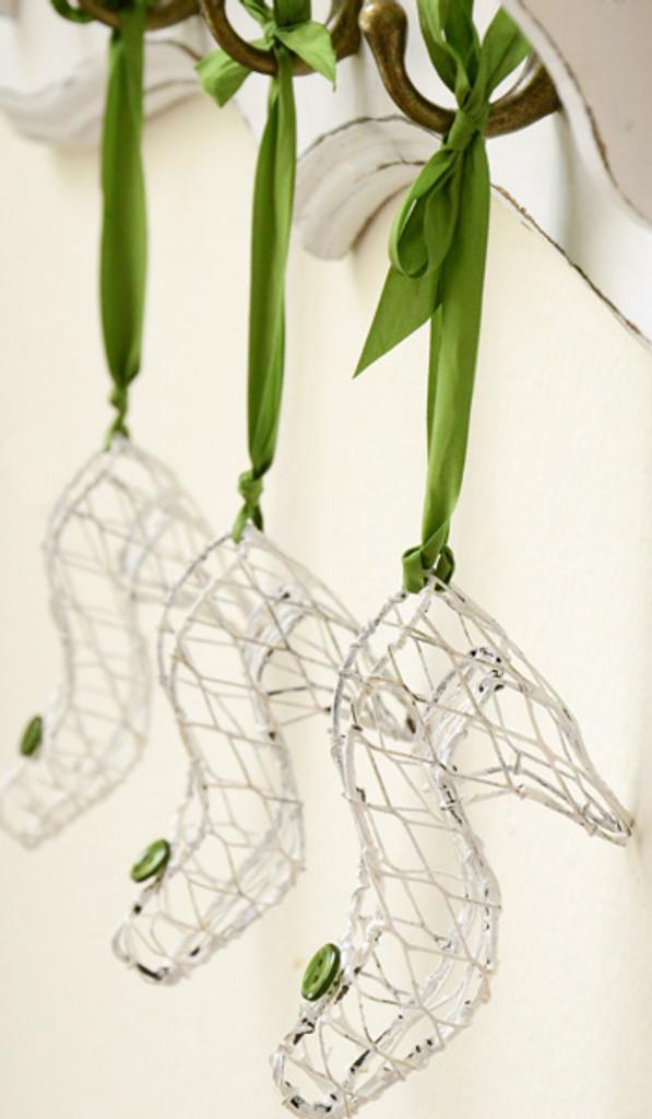 Mini Shoe Ornaments Project
