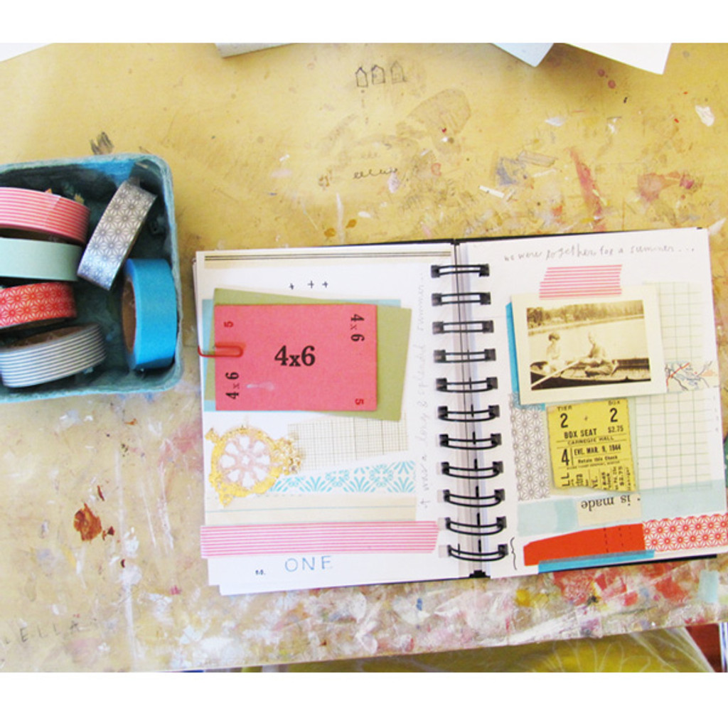 Sketchbook Layout and Inspiration Project by Sarah Ahearn Bellemare
