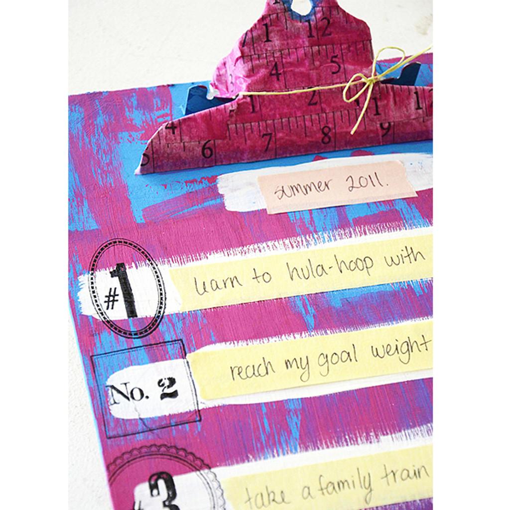 Alterable Art Journal Board Project