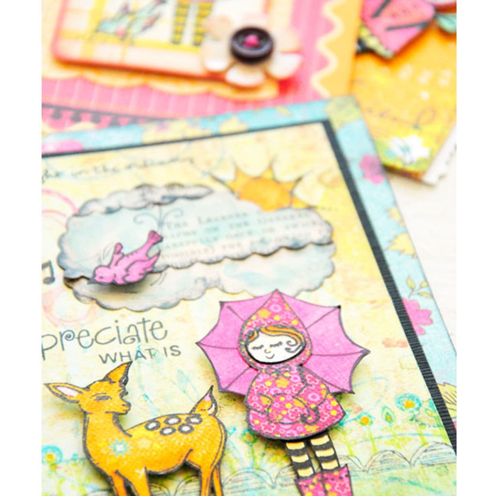 Storybook Village Cards Project by Purnima Girouard