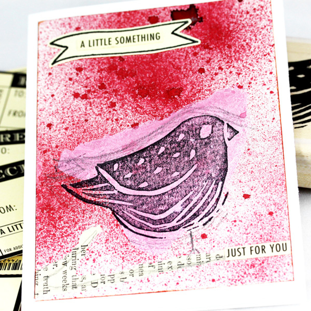 A Little Something Birdie Card Project by Shona Cole