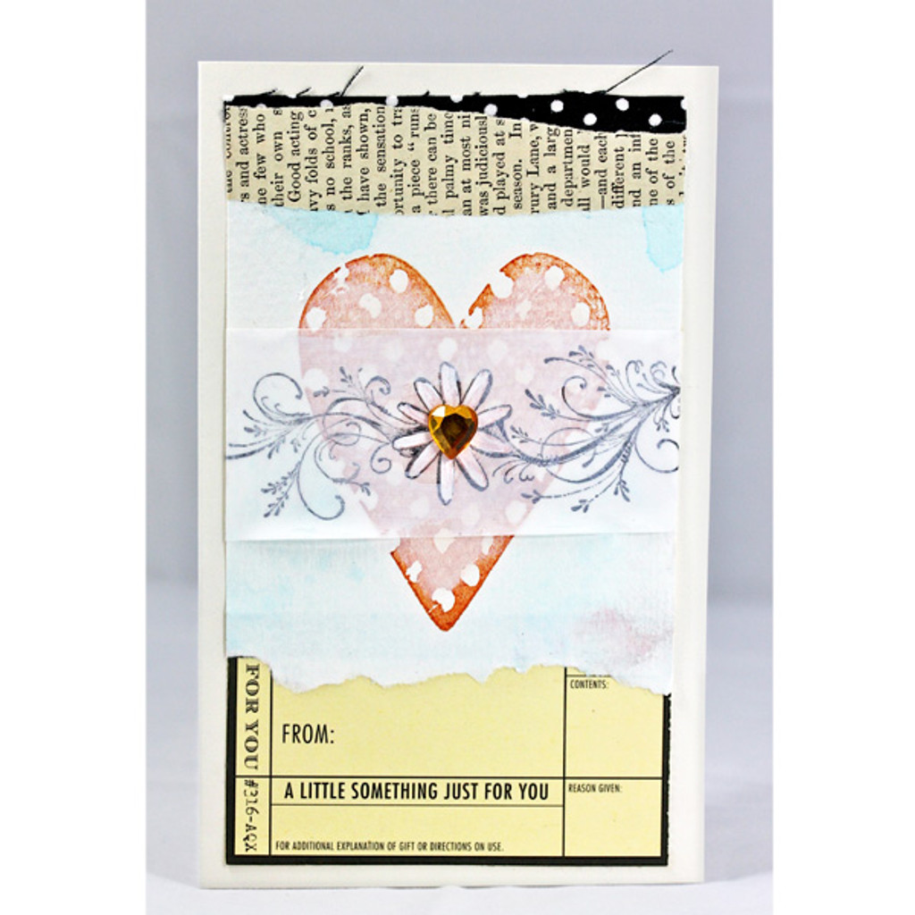 Vellum Over Heart Card Project by Shona Cole