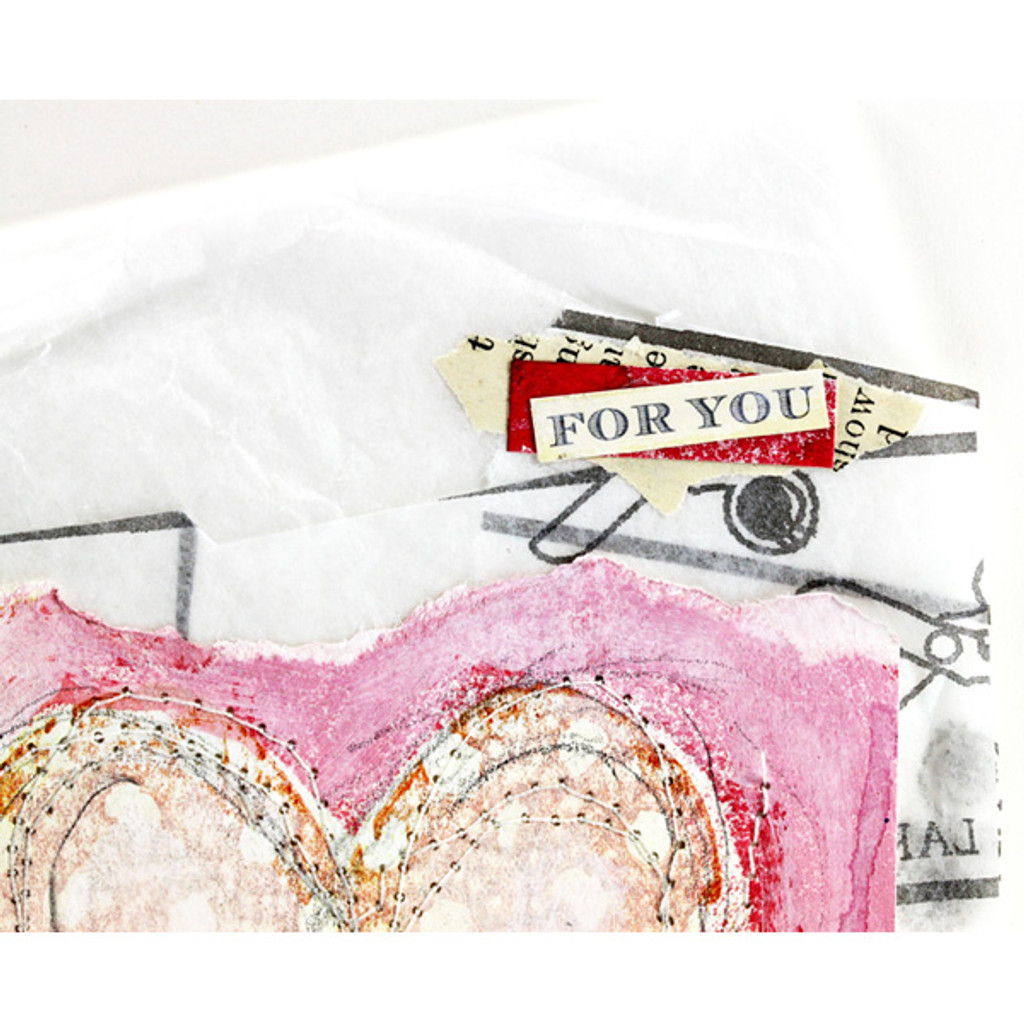 For Your Heart Card Project by Shona Cole