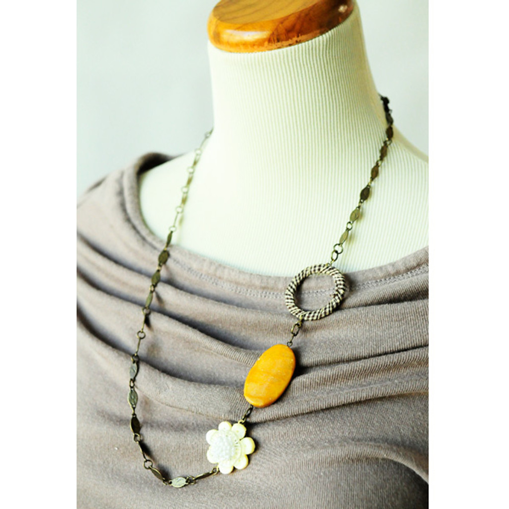 The Ten Minute Asymmetrical Necklace Project
