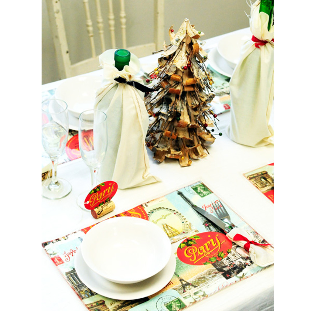 DIY Placemats & Holiday Entertaining Inspiration Project