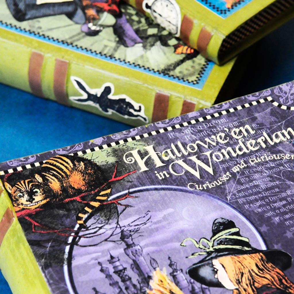 Wonderland Spell Books Project