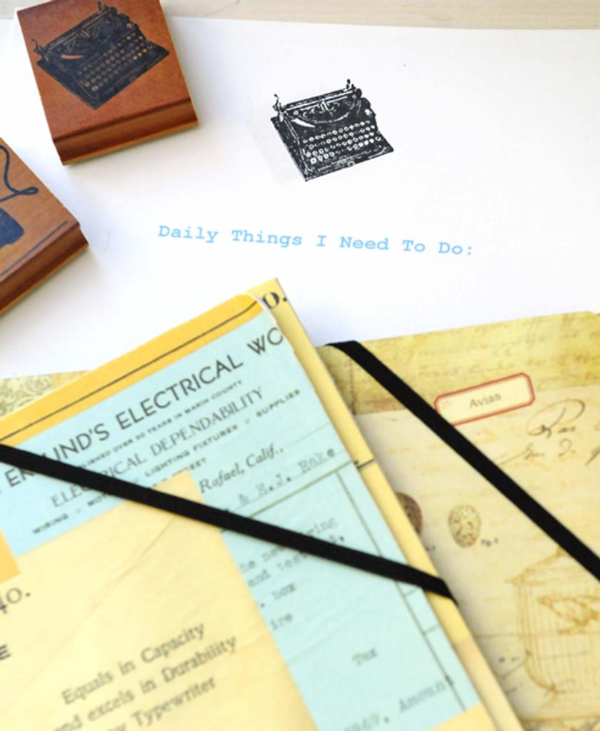 Vintage Office Stationery Project