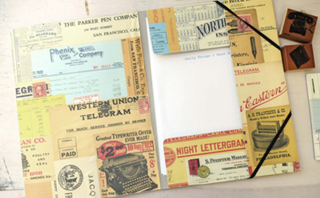 Vintage Office Stationery Project