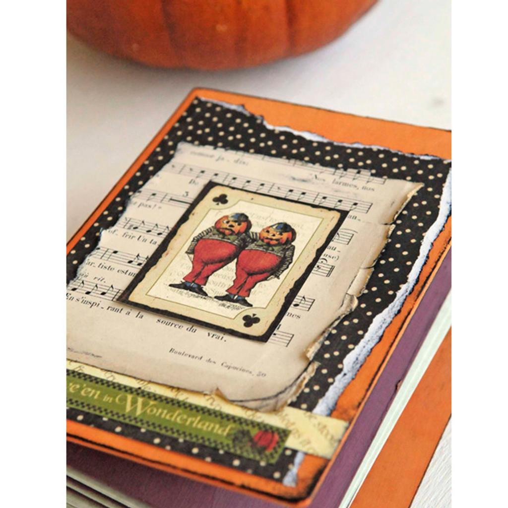 Tweedle Dee and Tweedle Dum Halloween Memories Project