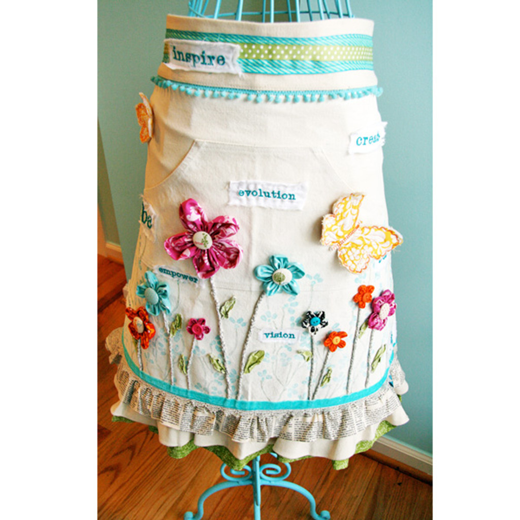 Altered Aprons Project by Donna Downey