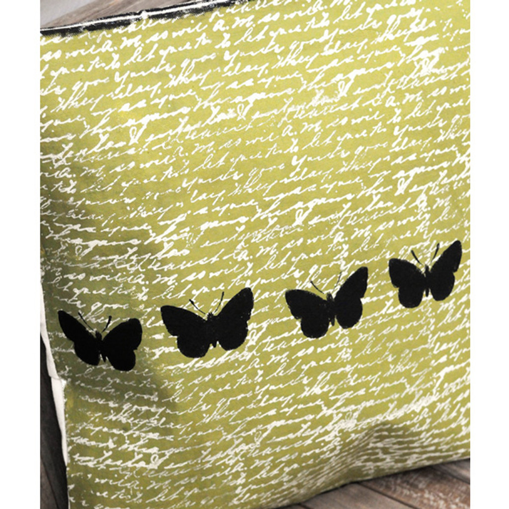 Butterfly Canvas Pillow Project