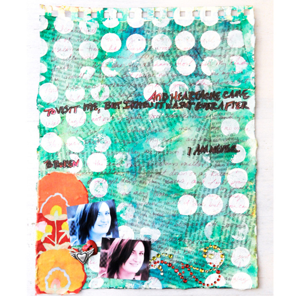 I Am Never Broken  Project by Lucy Hill Edson