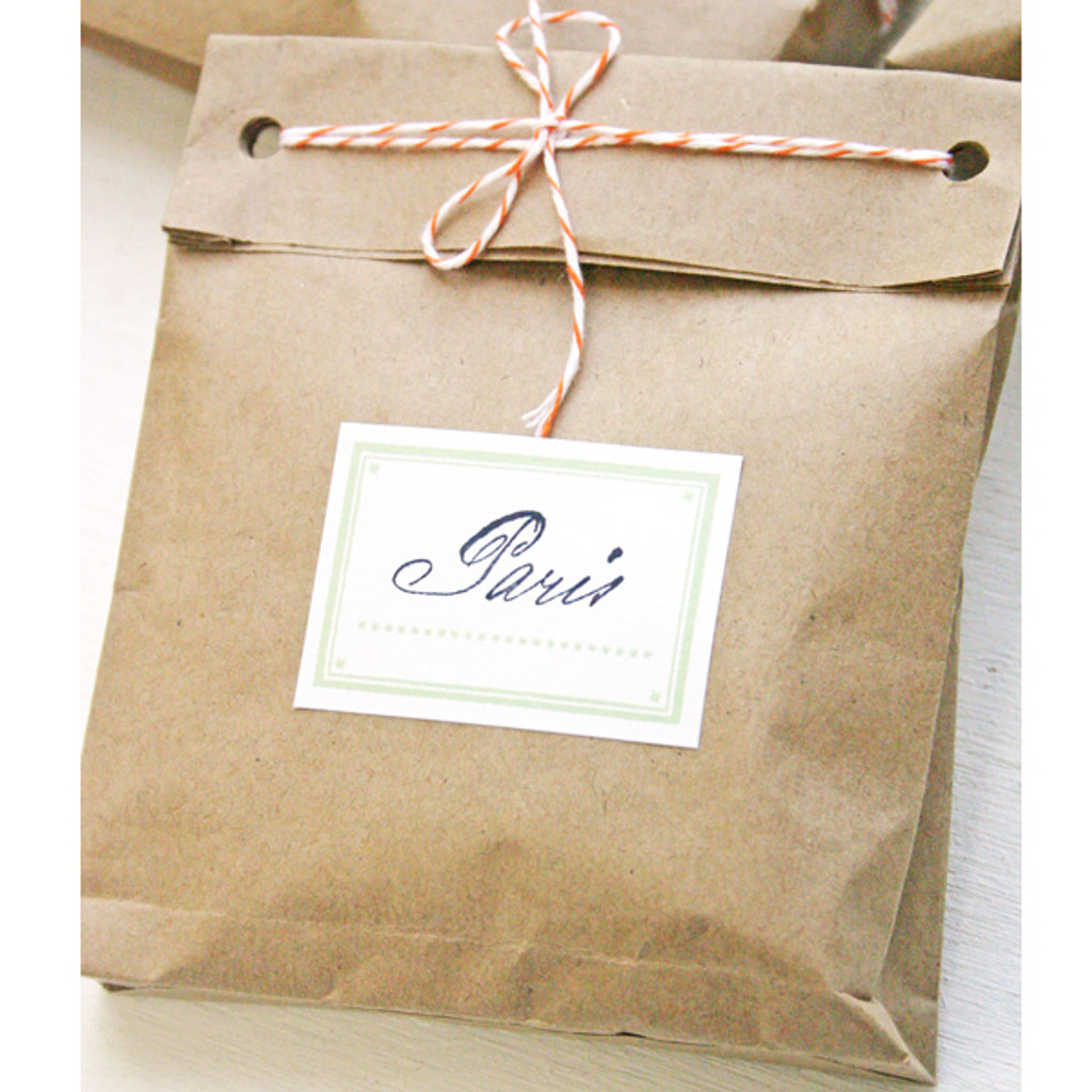 Brown Paper Packages Tied Up With String Project