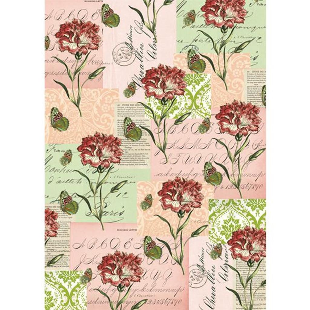 Cavallini & Co. Decorative Wrap — Flora & Fauna