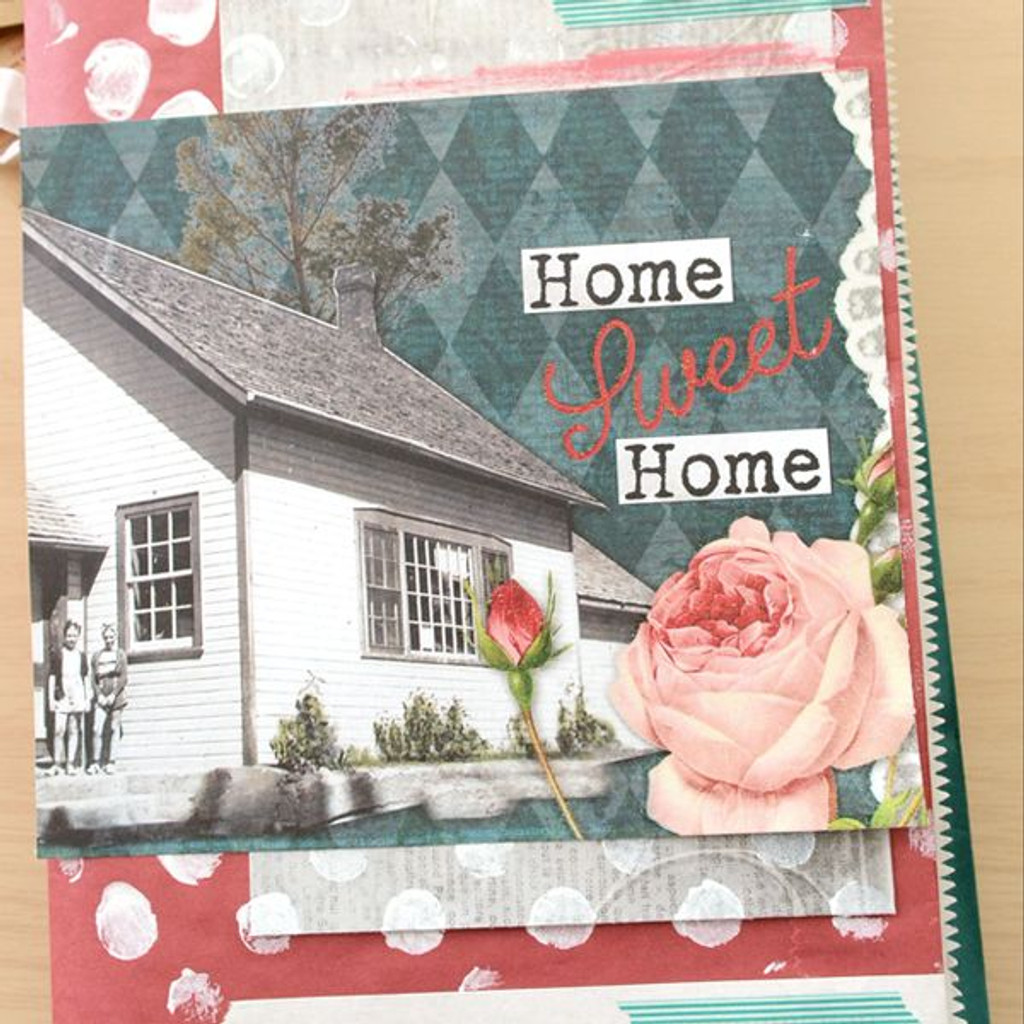 Home Sweet Home Baggy Book Project