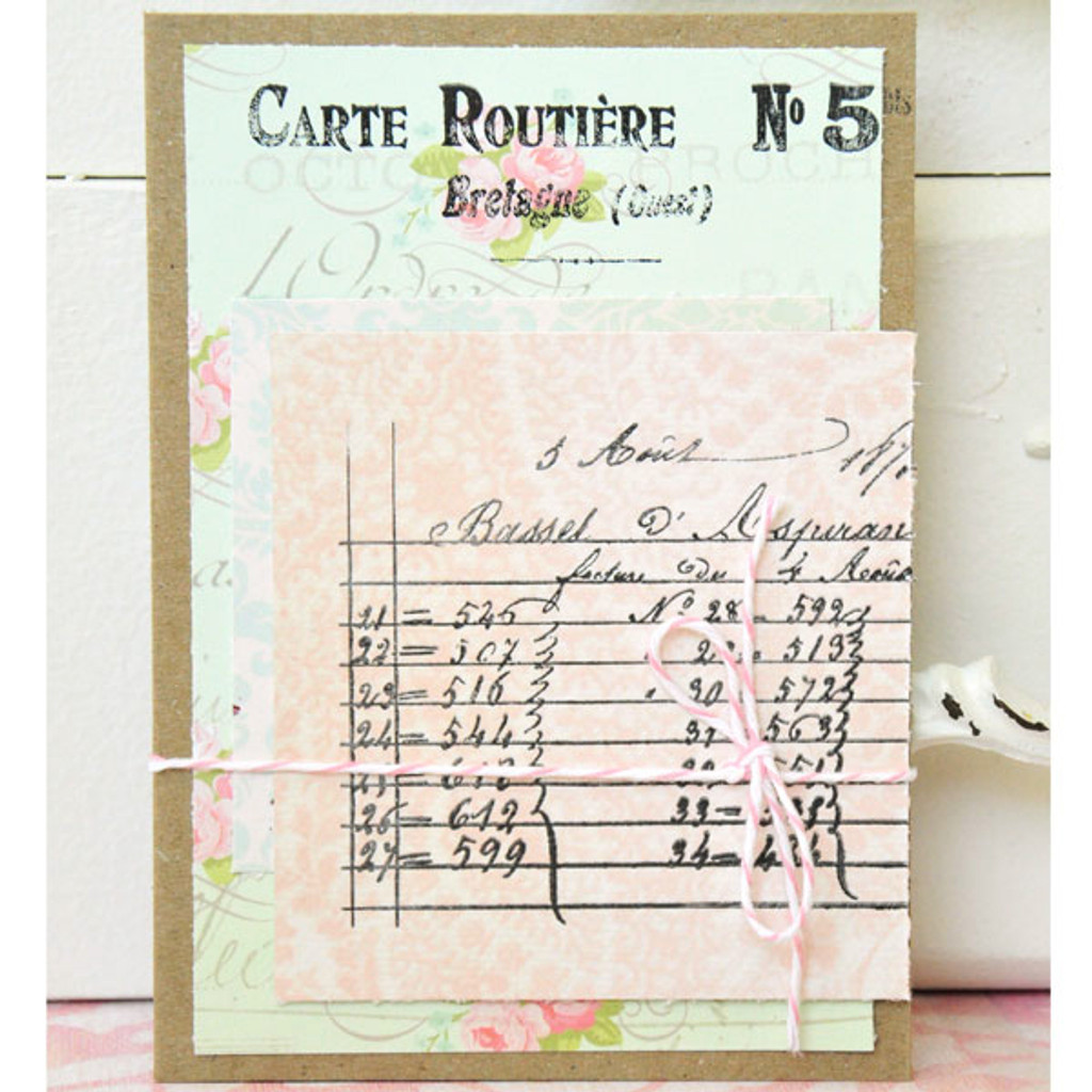 French Market Note Cards Project