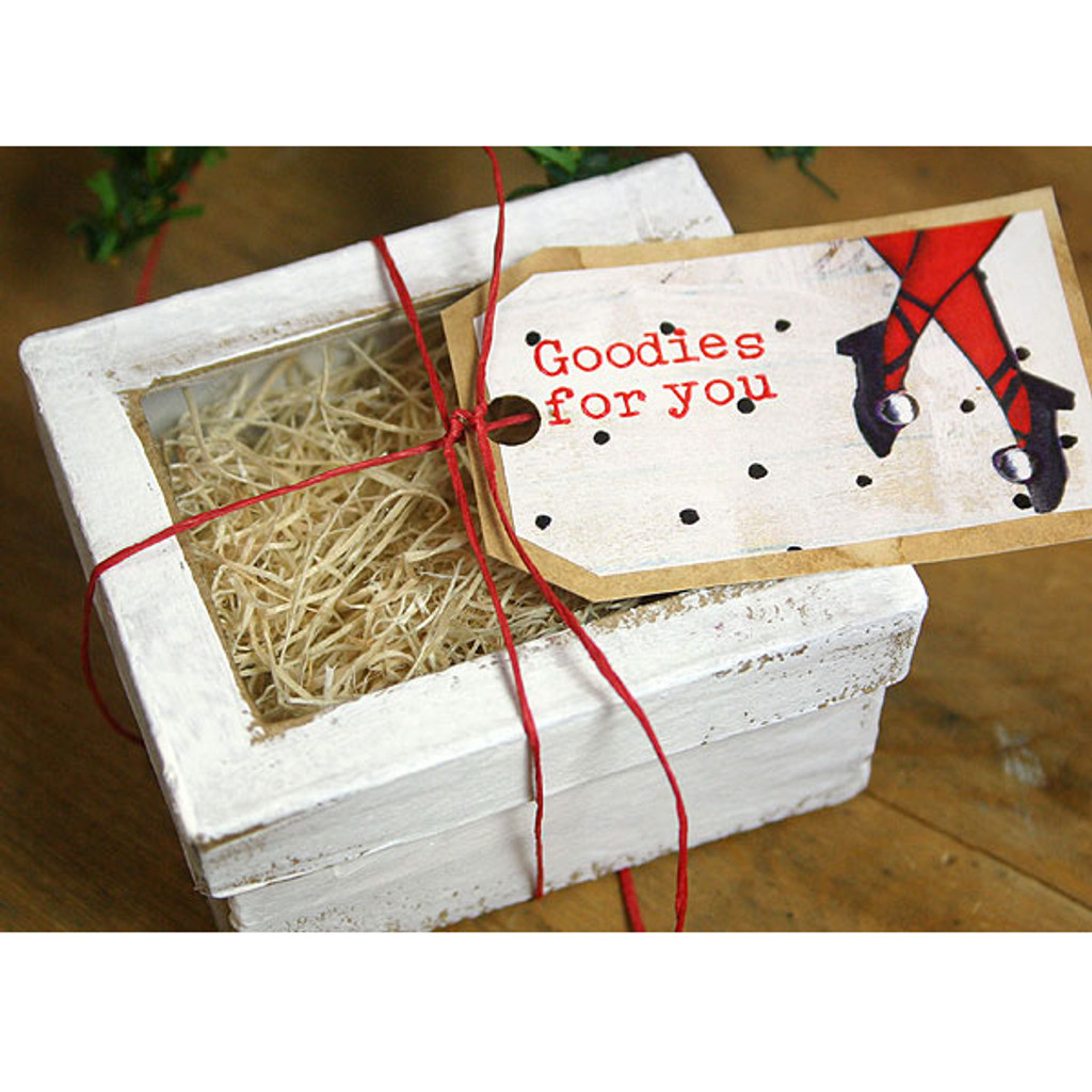Shabby Chic Christmas Boxes Project