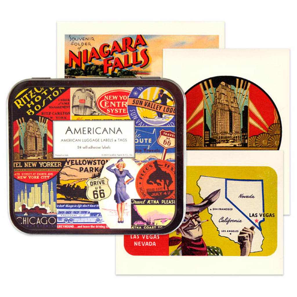 Cavallini & Co. Labels - Americana