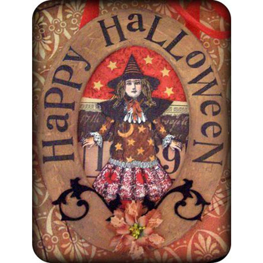 Happy Halloween Hanging Project by Barbara Smith