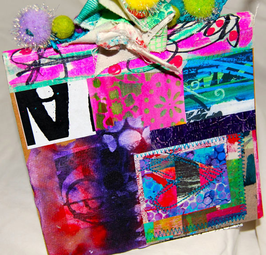 Collage Journal Project by Traci Bautista