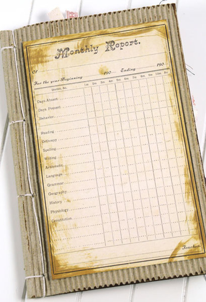 Ephemera Evidence Journal Project by Sarah Meehan