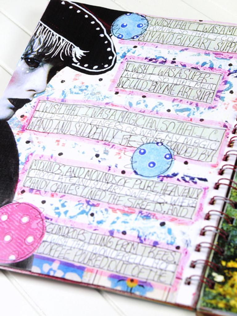 Art Journaling Inspiration Project