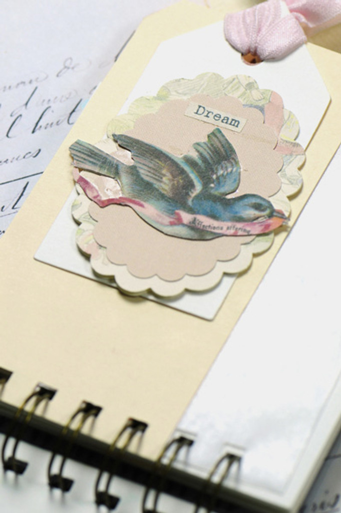 Altered Spring Journal Project by Kristen Robinson
