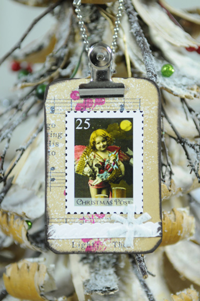 Mini Clipboard Ornaments Project by Audrey Hernandez