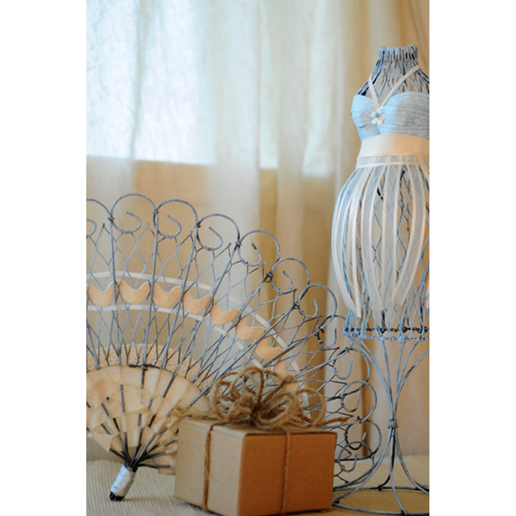 Antique Decorative Fan Project by Sarah Meehan
