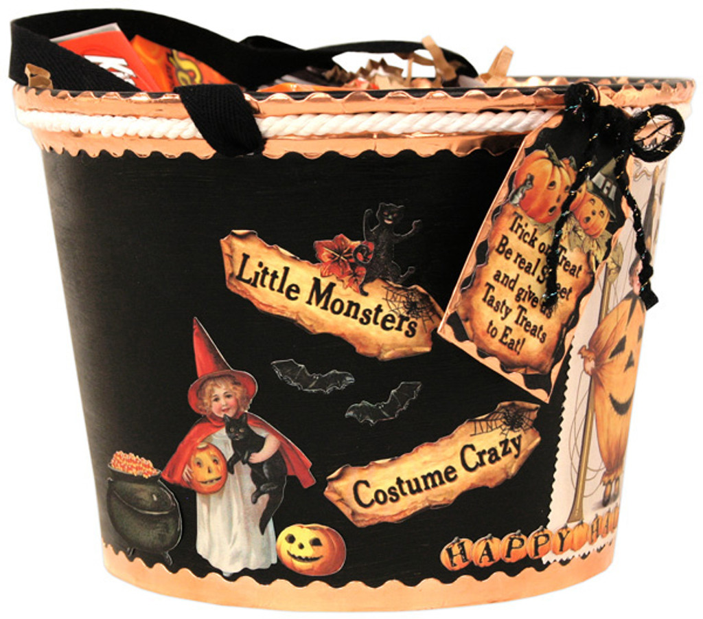 Trick Or Treat Bucket Project