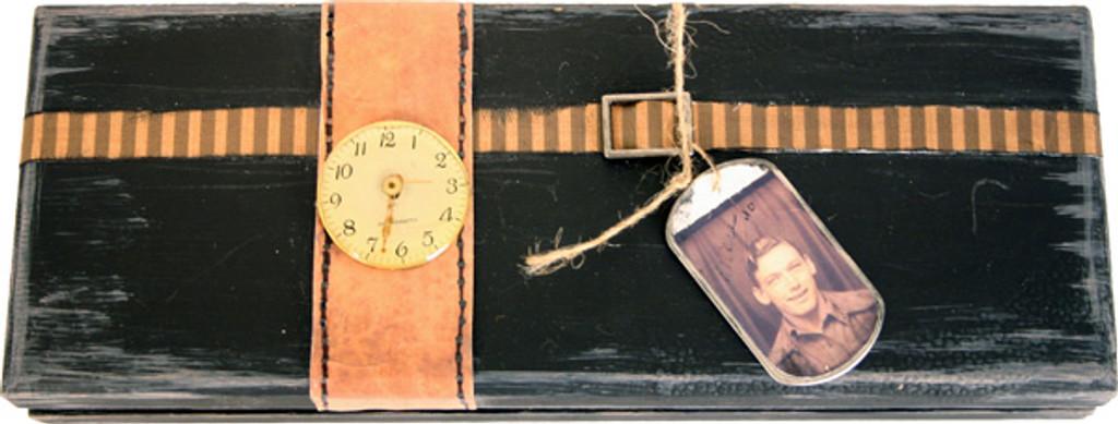 Father's Keepsake Box Project by Diane Michioka