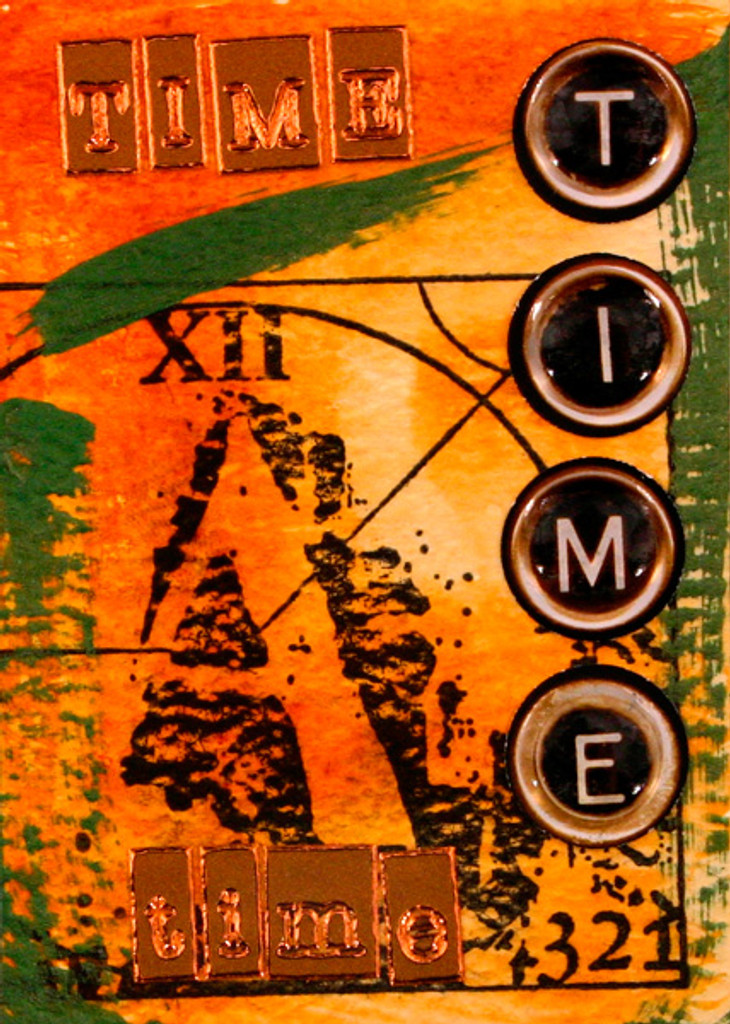 time, time, time Project by Debbie Metti
