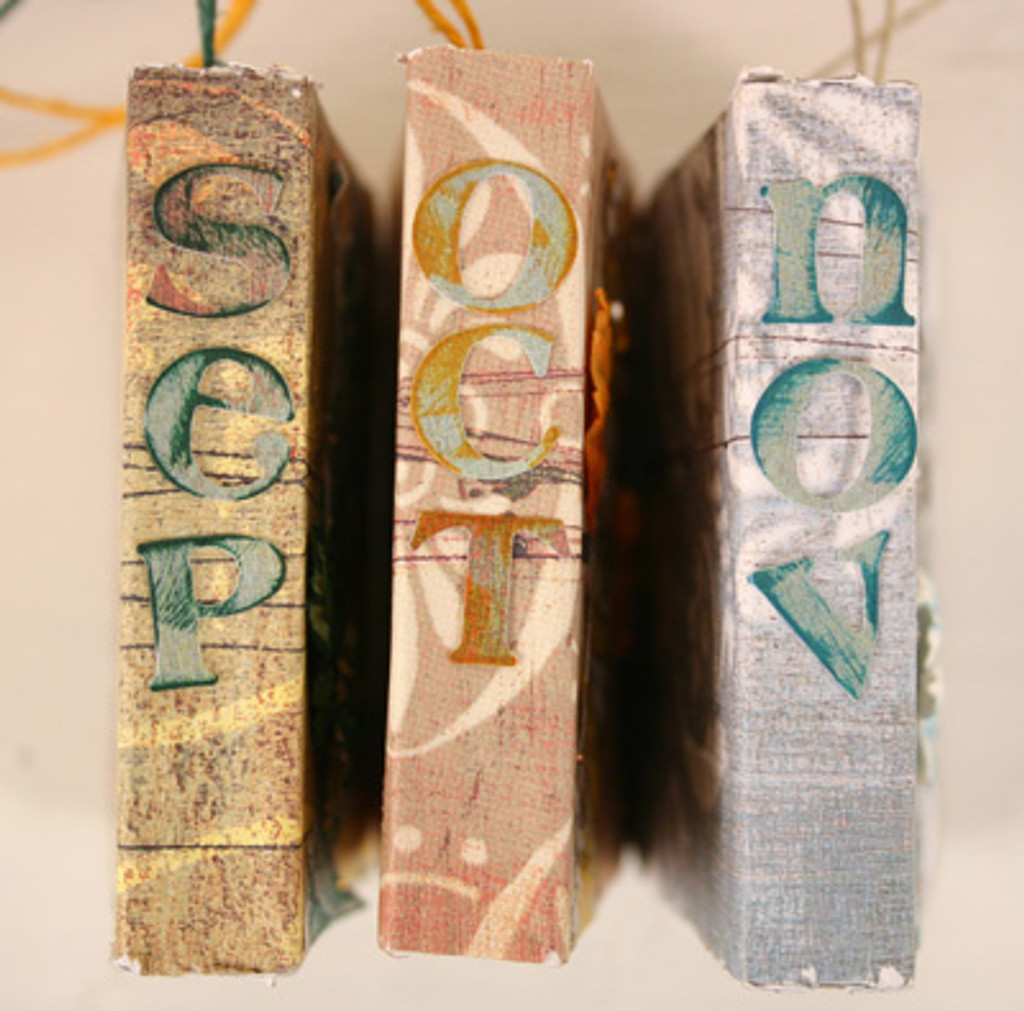 Mini Books of the Year Project by Diane Michioka, Carolyn Fuentes, Linda Tong, and Cher Lashley