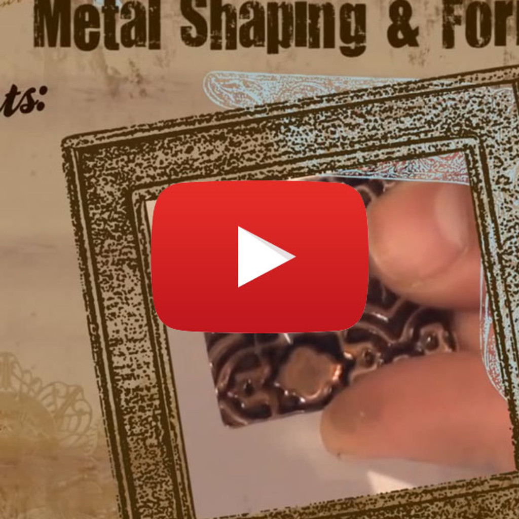 Vintaj BIGKick: DecoEtch Video By Vintaj Natural Brass Co. Featuring Guest Artist Mackie Mullane
