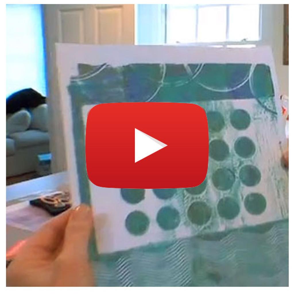 Gelli Arts Basics Video By Gelli Arts