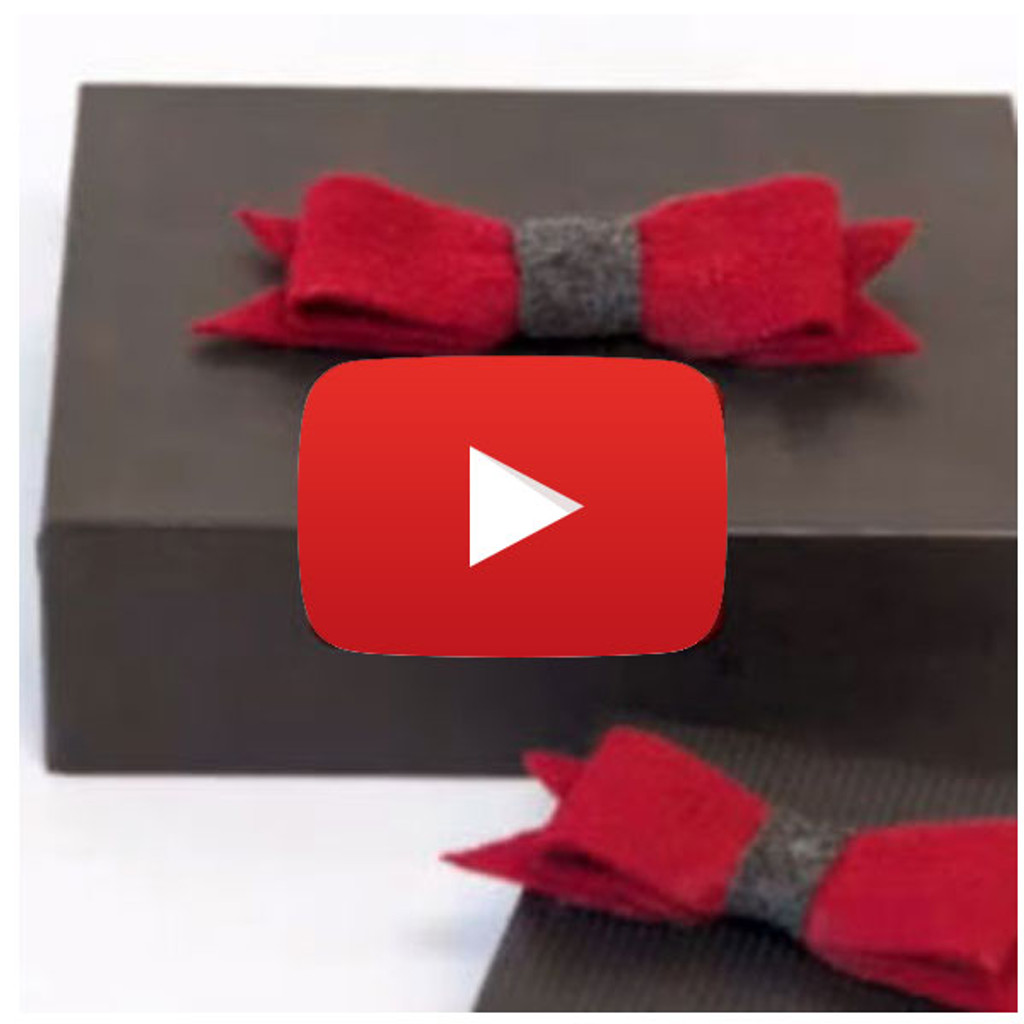 Decorative Bows Tutorial Video