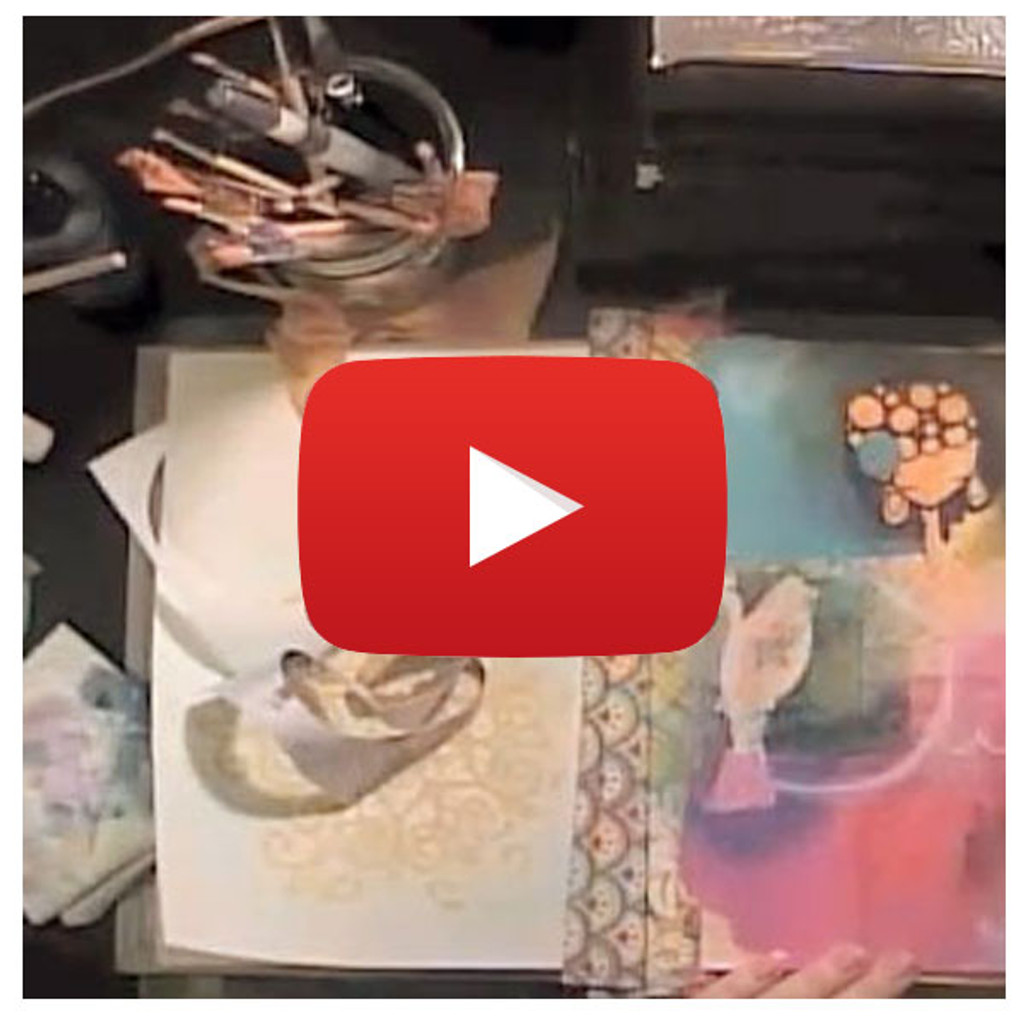Art Journaling Video By Samantha Kira Harding