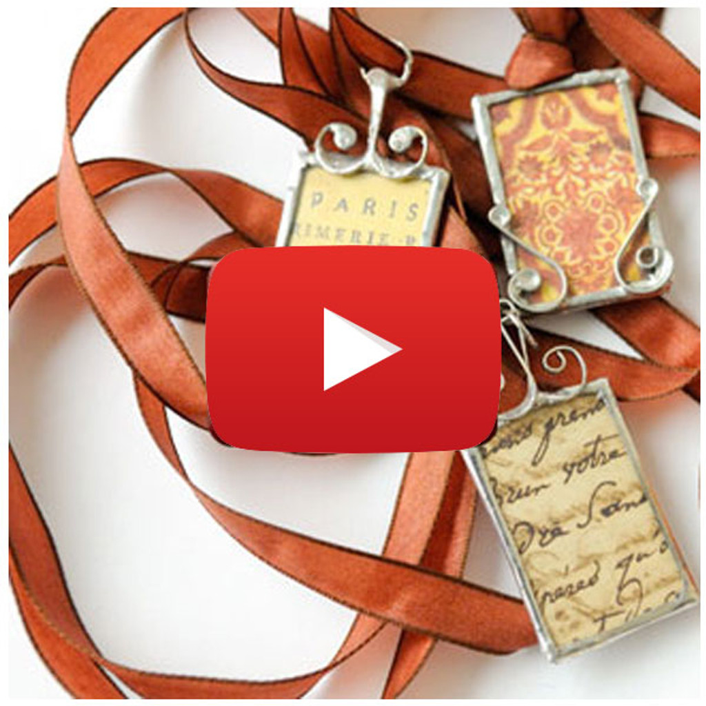 Simple Soldered Pendants Video