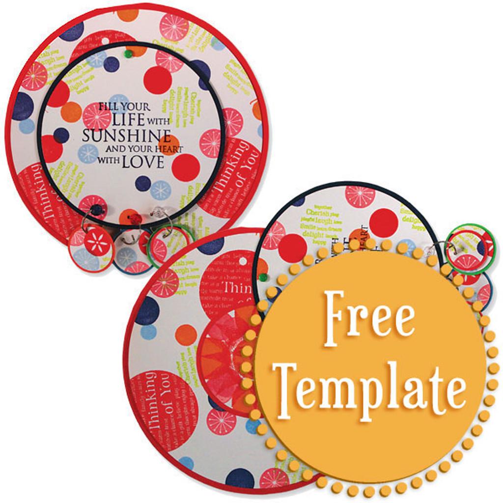 Circle Card Template