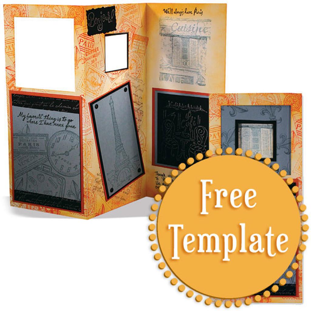 Tri-fold Template