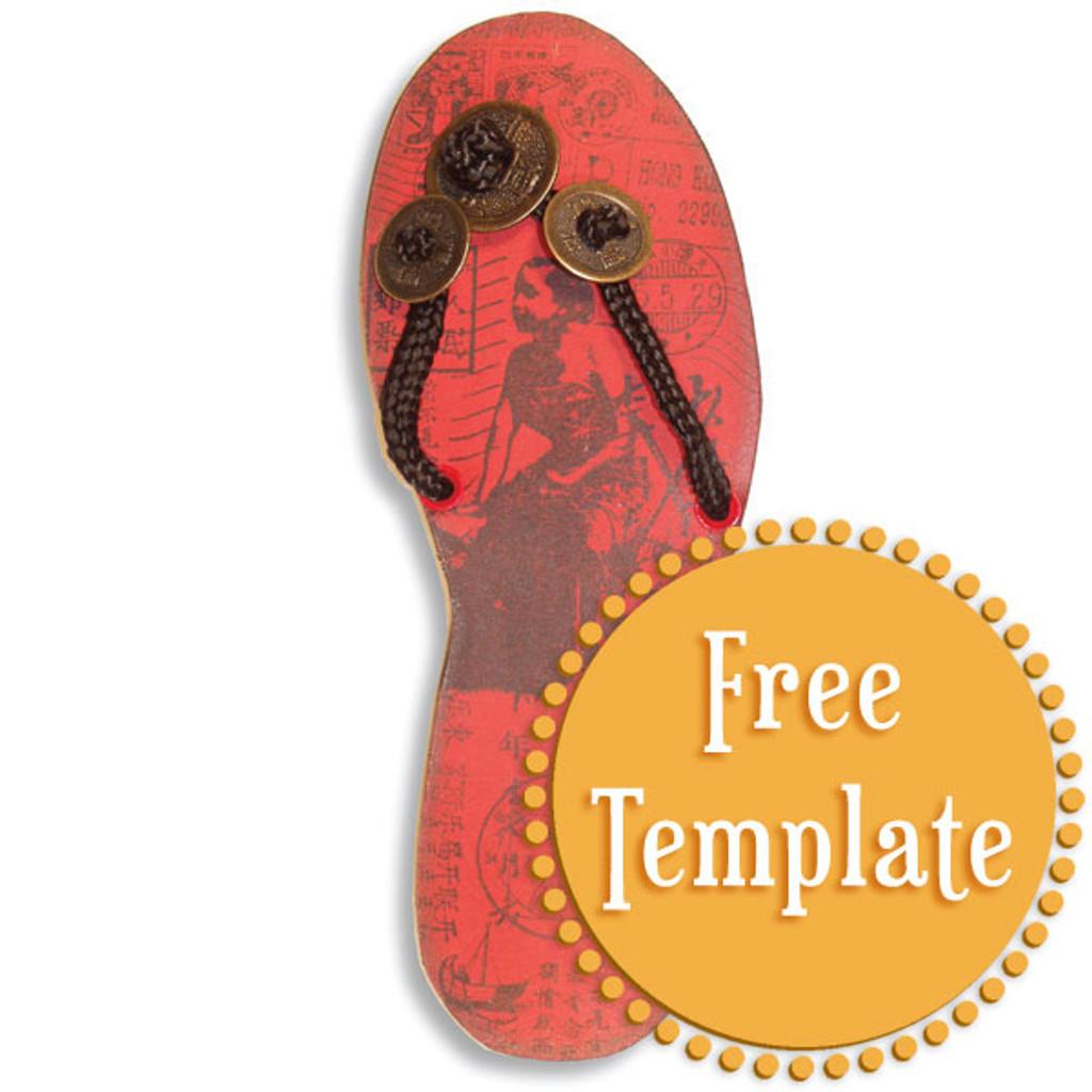 Sandal Template